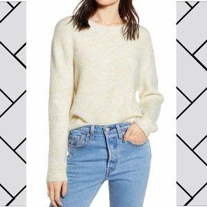 BP. [Nordstrom] | cream crew neck sweater [NWT]